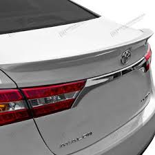 toyota avalon type spoiler unpainted wing factory flush type for toyota avalon 2013