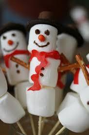 snowman marshmallows marshmallow snowman kabobs family crafts