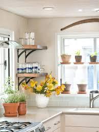 kitchen window shelf ideas room interior design with orange wall ideas and glass window small