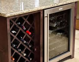 Built In Bar Cabinets Bar Wine Fridge Amazing Bar Cabinet With Fridge Jenn Air Wine