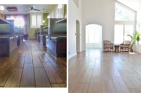 the right way and the way to install porcelain wood floors
