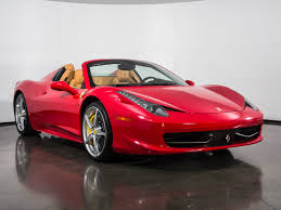 toy ferrari 458 used 2014 ferrari 458 spider for sale plano tx vin