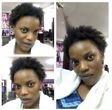 naigerian actresses hairstyles team nomakeup noweave empress njamah shows off natural hair in
