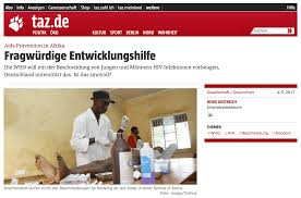 than other german organizations such as by fighting to the death german press condemns vmmc the vmmc experience project