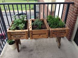 pictures herb garden apartment balcony free home designs photos