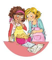 illustration cuisine la cuisine des copines les chosettes