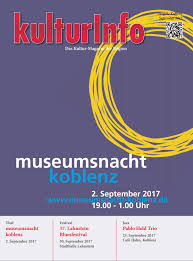 kulturinfo september 2017 by kulturverlag günther schmitz issuu