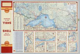 Hamilton Ontario Map Various Maps Of Cities And Districts In Ontario Canada David