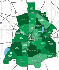 Map Dallas Dallas Neighborhoods Say Yes To Dallas