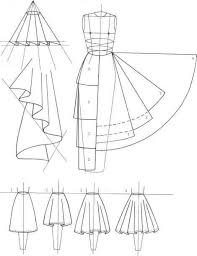 Draped Skirt Tutorial Circle Skirts Inspiration U0026 Resources