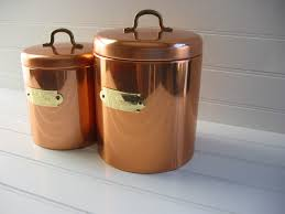 Copper Kitchen Canisters Unique Kitchen Canisters Glass Dream House Collection