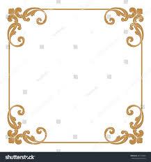 royalty free premium gold vintage baroque ornament 461176024