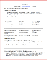 Pharmacist Technician Resume Pharmacy Technician Resume Samples Resumedoc