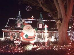 woodland hills christmas lights kathleen finnegan candy cane lane in woodland hills