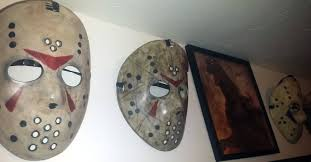 hockey mask halloween walmart fan turns dollar store hockey masks into awesome jason masks