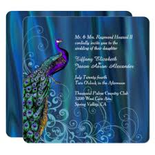 peacock wedding invitations peacock wedding invitations 2600 peacock wedding announcements
