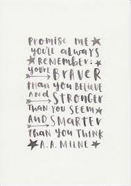 a a milne quote neutral nursery decor unisex baby gift black