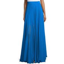flowy maxi skirts milly flowy silk maxi skirt w front slit polyvore