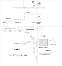 arihant aksh in badlapur east mumbai location map floor