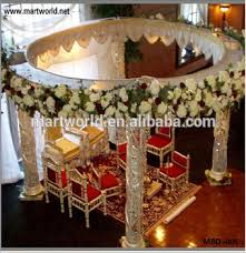 Hindu Wedding Mandap Decorations India Luxury Mandap For Wedding Decorations Wedding Crystal Mandap