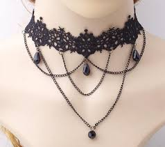 victorian necklace styles images Victorian gothic choker necklaces 15 styles bmessentials jpg