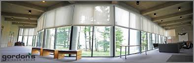 commercial window treatments for colleges hospitals office buildings
