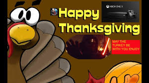 my thanksgiving well wishes gamerscore speech