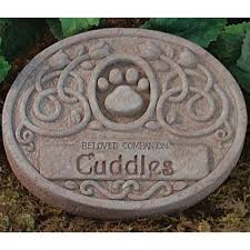 pet memorial garden stones floral pet memorial garden personalized gc 5038e 70 00