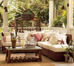 Patio Set With Reclining Chairs Design Ideas Architecture Amazing Porch Room Design Ideas With Rustic Wicker