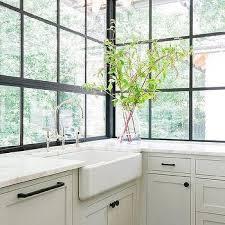 Kitchen Window Design Ideas Black Framed Kitchen Windows Design Ideas