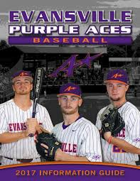 2017 evansville baseball info guide by ue sports information issuu