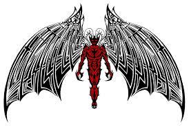 d devil tribal by auronff10 on deviantart