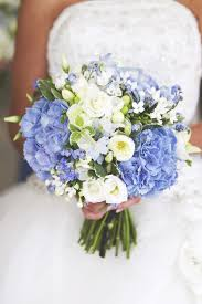 blue wedding bouquets hydrangea light blue bouquet search weddings