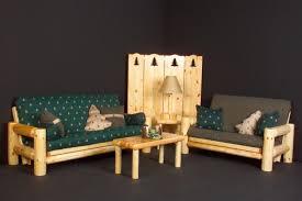 log futons cabin furniture generation log furniture
