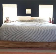 Faux Bed Frame Diy Faux Bed Frame Design Sponge