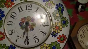 two rare vintage 70s wall clocks youtube