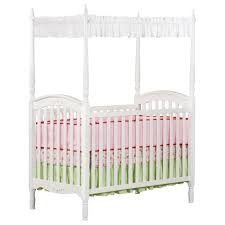 Baby Bed Net Canopy delta children lil princess canopy crib white