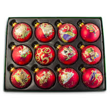 christmas ornament sets decor enchanting waterford christmas ornaments for home