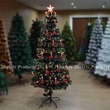 5ft 150cm christmas tree fiber optic pre lit xmas ttree with
