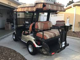 2010 yamaha 4 person golf cart talk of the villages