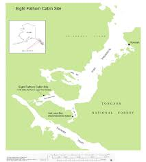 Sitka Alaska Map Eight Fathom Cabin