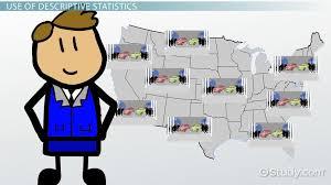 what is descriptive statistics examples u0026 concept video