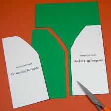 card pockets tutorial for a greeting card pocket folder greeting card