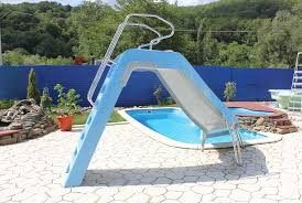 backyard pools with slides pool design ideas