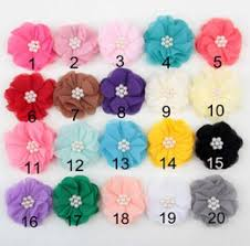 Flower Decorations For Hair Discount Diy Little Hair Accessories 2017 Diy Little