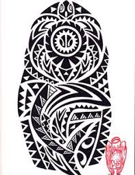 tribal tattoo design with koru and island style iphone 4 4s case