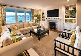 Cream Colored Sectional Sofa by Attractive Best Carpet For Living Room Using Cream Colored Wool