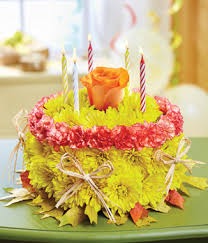birthday flower cake 1 800 flowers fall birthday flower cake at from you flowers