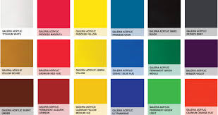winsor u0026 newton galeria acrylic paint 500ml 18 colours available