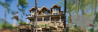 georgia log homes and timber frame homes by precisioncraft